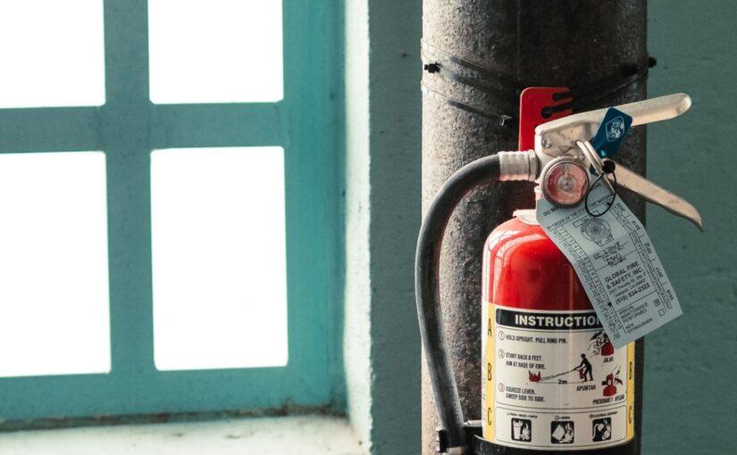 Najbardziej popularne rodzaje gaśnic przeciwpożarowych